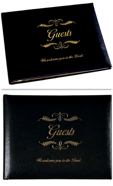 All Occasion Guest Book, Small, Bonded Leather